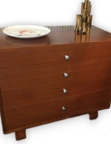 Mid Century Modern Four Drawers Dresser