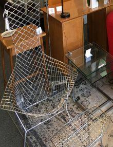 Mid Century Modern Furniture Bertoia Bird Chair