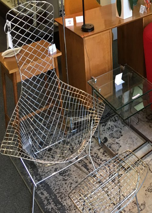 Mid Century Modern Furniture Bertoia Bird Chair
