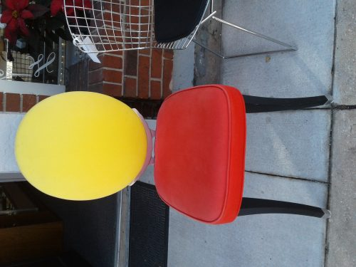 Mid Century Modern Bright Colors Chair
